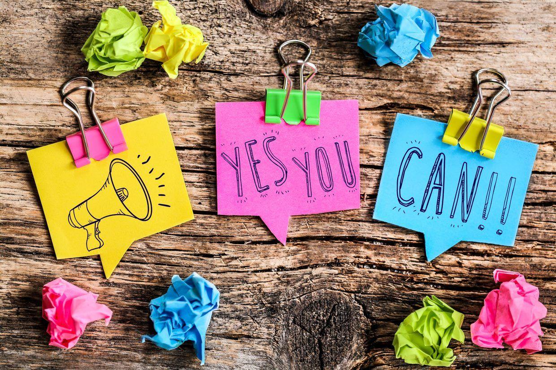 Yes, you can! Erfolge feiern und das Selbstbild stärken